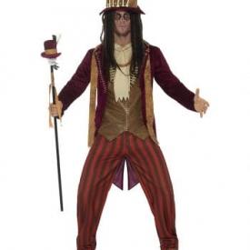 Afrikanischer Voodoo Mann Kostüm Deluxe