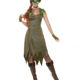 Waldnymphe Damen Kostüm