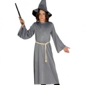 Weiser Magier Kinderkostüm mit Hut