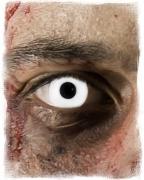 1-Tages Kontaktlinsen Zombie weiß