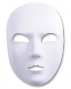 Venezianische Maske zum selber schmücken