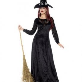 Hexen Frauenkostüm Deluxe