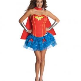 Sexy Wonder Woman Corsagen Kostüm