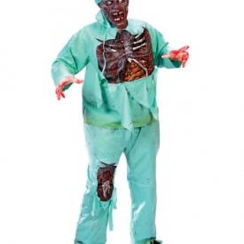 Zombie Doctor Kostüm Plus Size XL