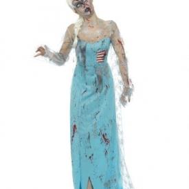 Zombie Eisprinzessin Kostüm