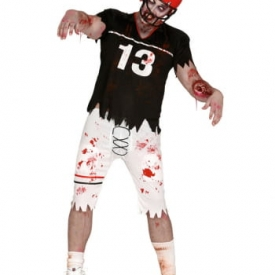 Footballspieler Zombie Herrenkostüm