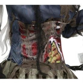 3D Zombie Bauch Korsett