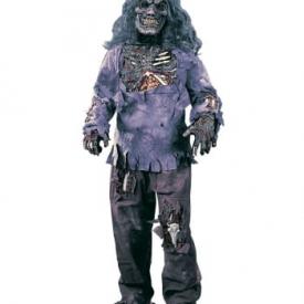 Zombie Deluxe Kostüm für Kinder