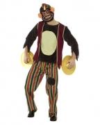 Zombie Zirkusaffe Premium Kostüm