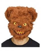 Flauschige Zombie Bär Maske