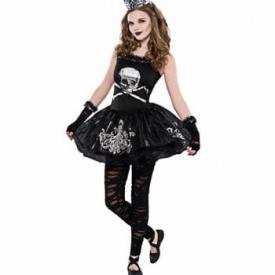 Zombie Tänzerin Teen Kostüm
