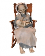 Zombie Oma mit Baby
