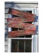 4 blutige Fenster Latten